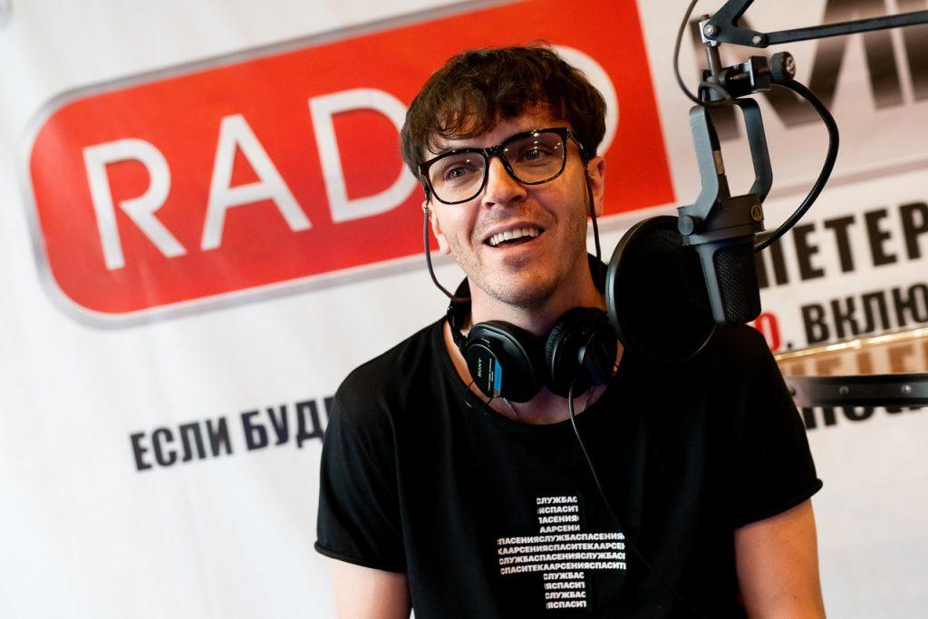 Арсений Попов на RADIO METRO 102.4 FM
