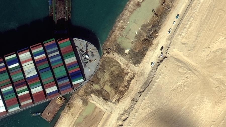 Влияние затора в Суэцком канале на экономику КНР