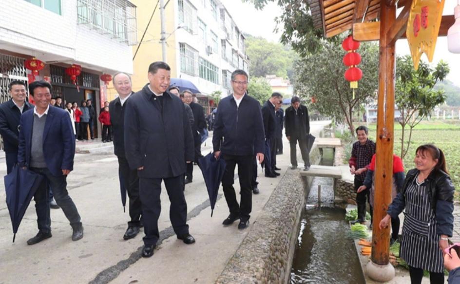 Си Цзиньпин во время инспекционной поездки в провинцию Фуцзянь посетил уезд Шасянь