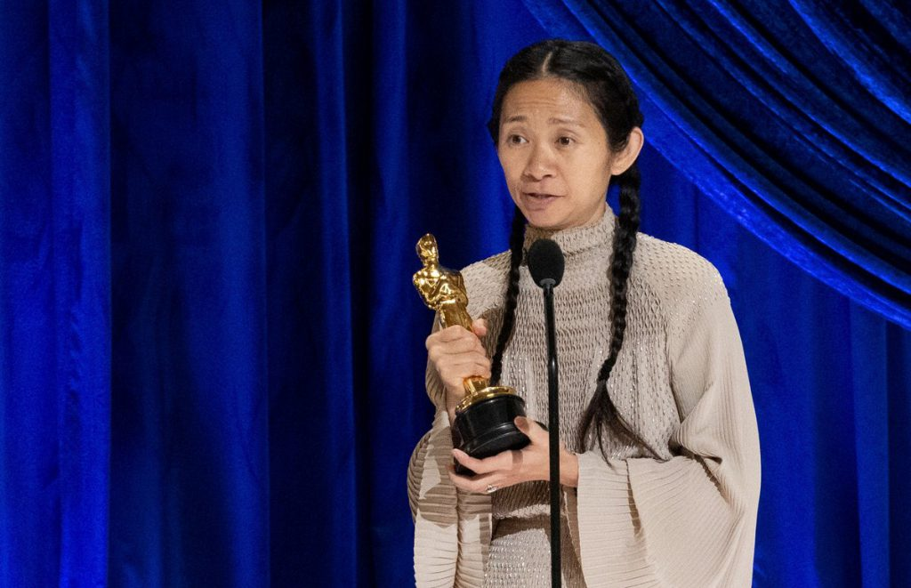 Чжао Тин получила «Оскар» как лучший режиссёр