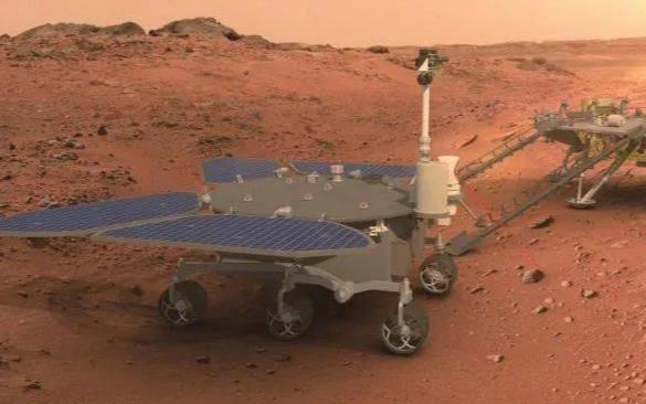 Китайский марсоход «Чжужун» проработал на поверхности Красной планеты 100 дней