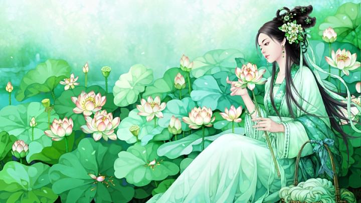 Легенда о первой красавице Си Ши