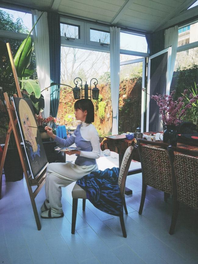 Знаменитый художник — Ван Мэнсюэ