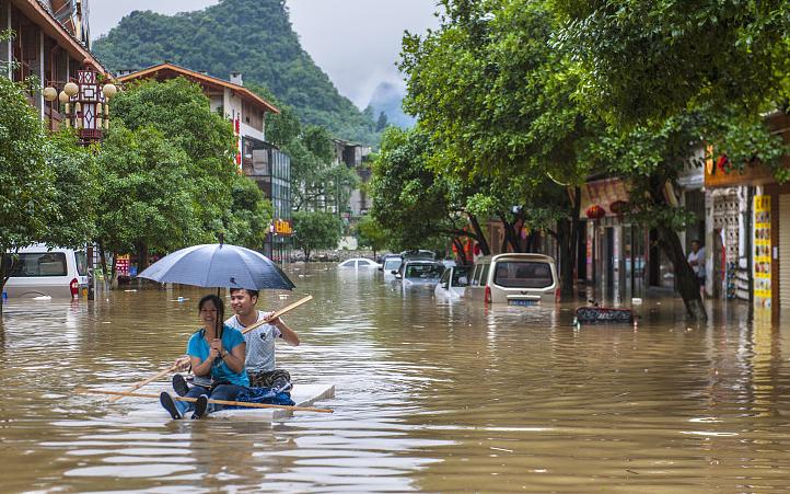 В первом квартале 2021 года в Китае зафиксировано сокращение потерь от стихийных бедствий