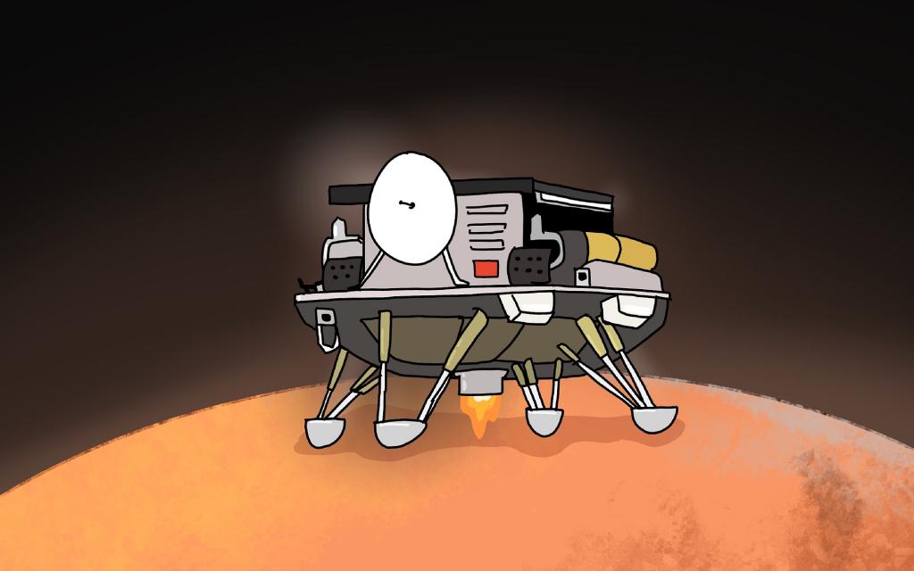 Глава «Роскосмоса» Рогозин поздравил Китай с посадкой зонда на Марс