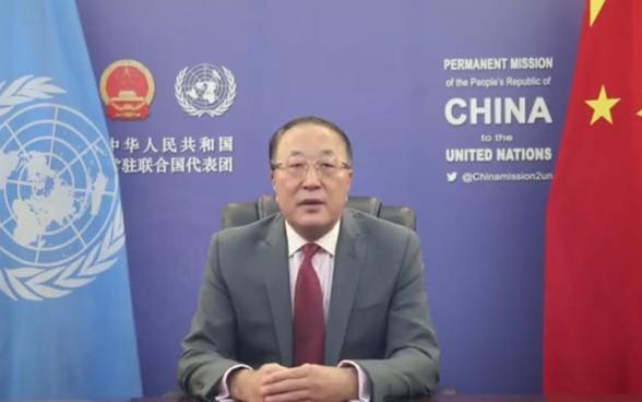 Постпред Китая при ООН отдал дань уважения миротворцам