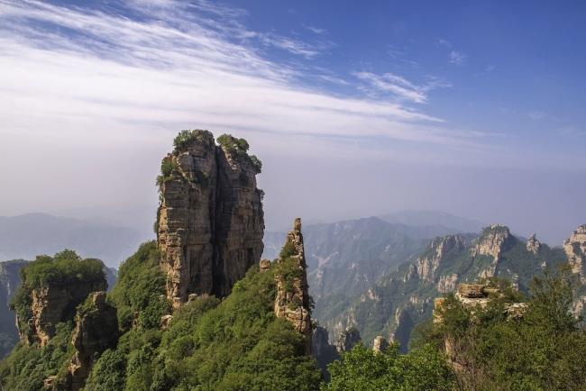 Туристическая зона гор Байшишань