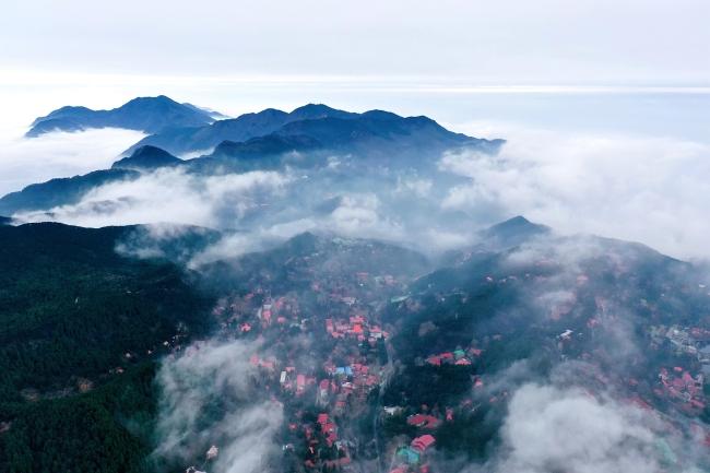 Горы Лушань провинции  Цзянси