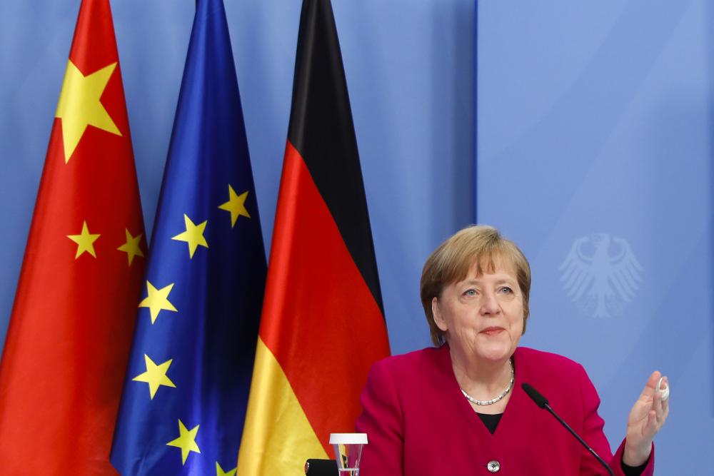 А. Меркель назвала инвестиционное соглашение между КНР и ЕС важным начинанием