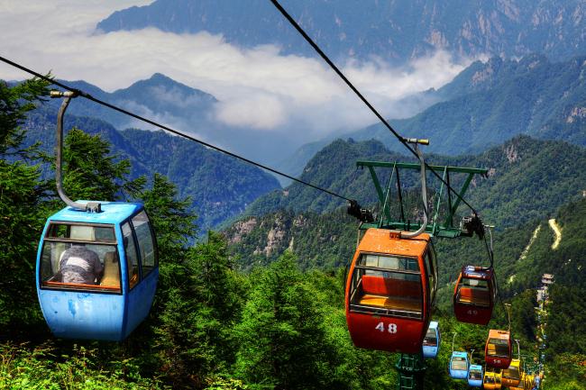 Национальный лесной заповедник Тайбайшань