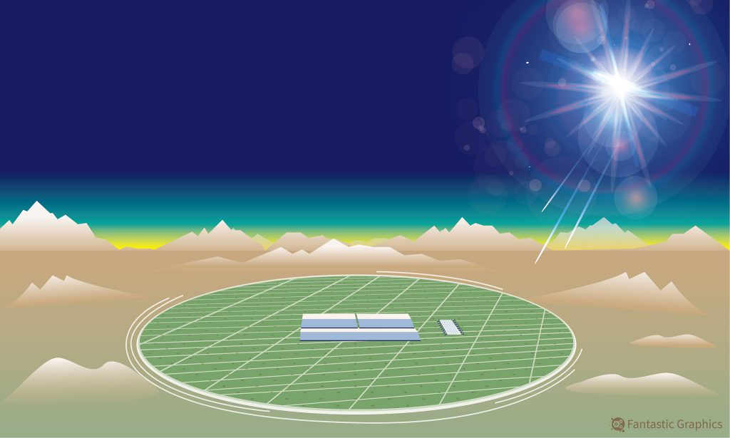 В Китае зарегистрировали космические фотоны рекордно высокой энергии