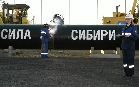 «Газпром» построил треть участка «Силы Сибири» от Ковыкты до Чаянды