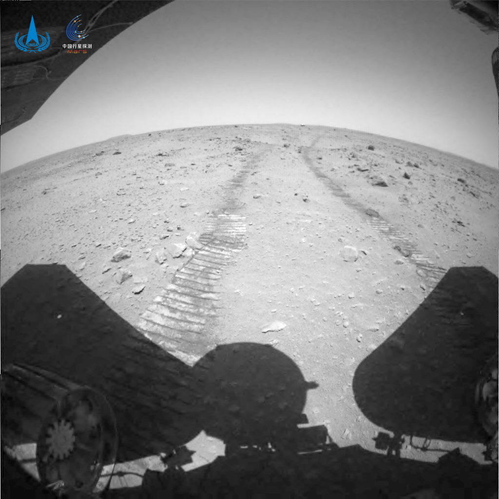 Китай опубликовал новые видео и изображения с Марса