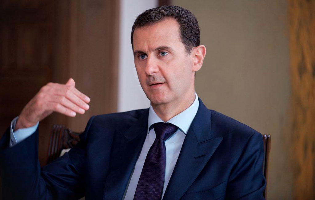 Си Цзиньпин поздравил Башара Асада с переизбранием на пост президента Сирии