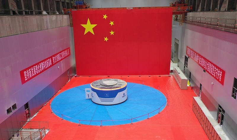 Си Цзиньпин направил поздравление в связи с вводом в эксплуатацию первой партии энергоблоков на ГЭС Байхэтань