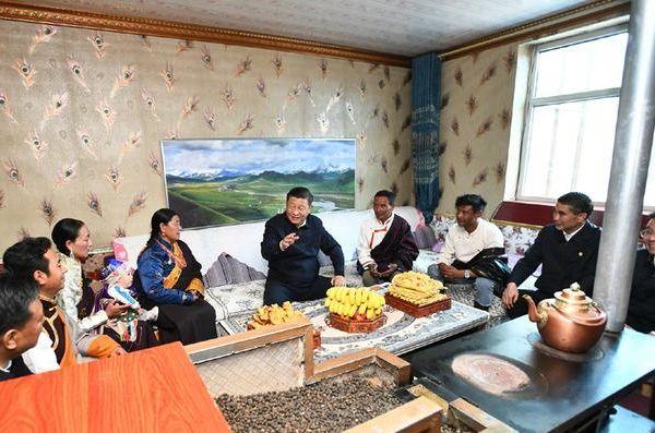 Си Цзиньпин: КПК завоевала поддержку народа благодаря служению ему всем сердцем