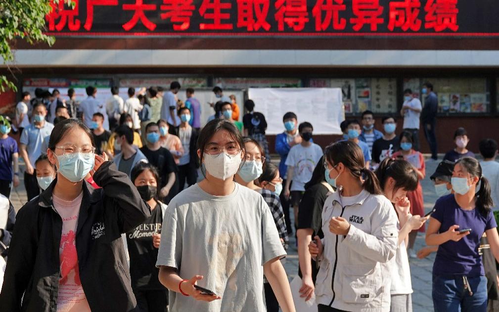 В Китае стартовали единые государственные экзамены в вузы