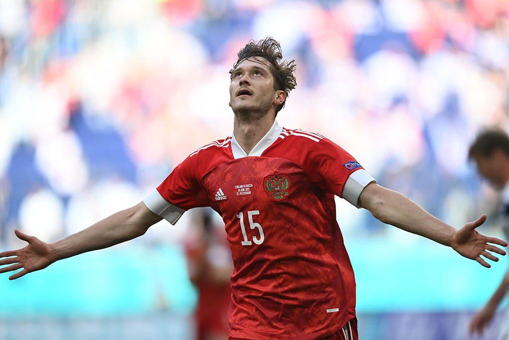 Сборная России обыграла Финляндию в матче Евро