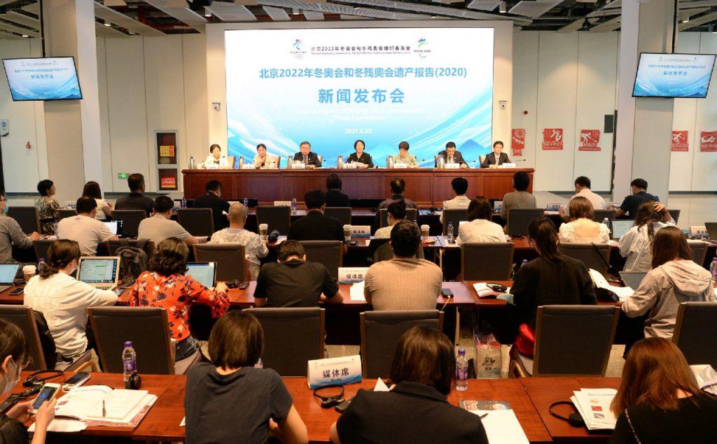 Обнародован «Отчет о наследии зимних Олимпийских игр 2022 года и Паралимпийских игр в Пекине»