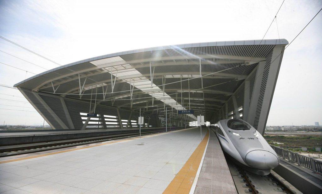 Пассажиропоток на ВСЖД Пекин-Шанхай составил 1,35 млрд человек за 10 лет с момента ее ввода в эксплуатацию