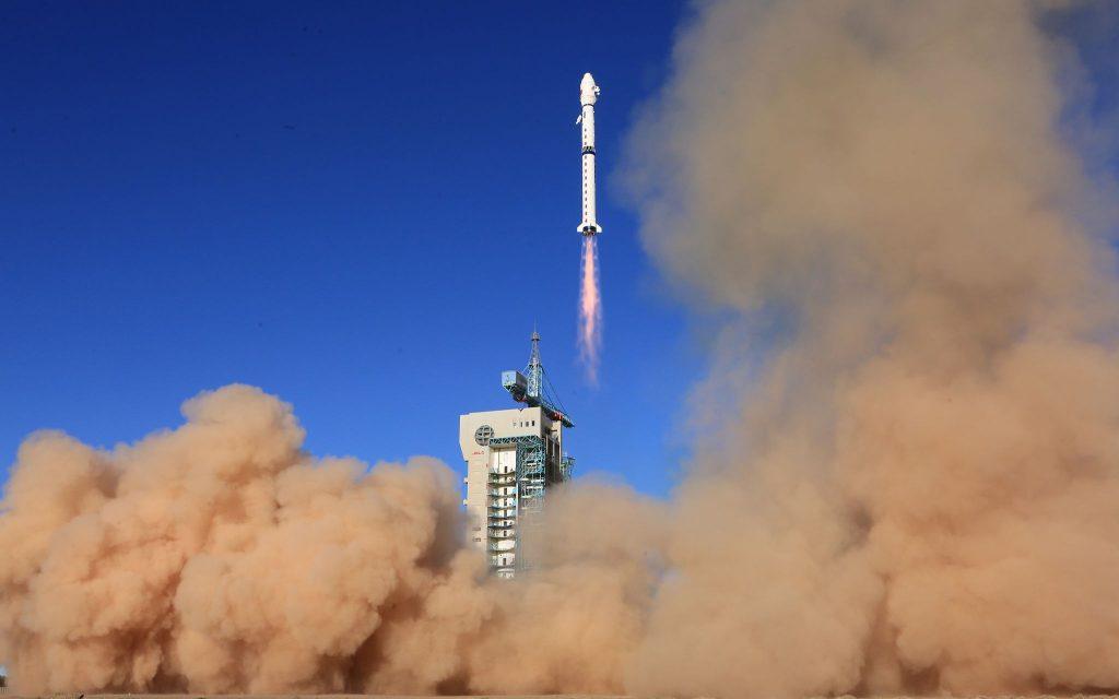 В Китае запущен метеоспутник «Фэнъюнь-3E»