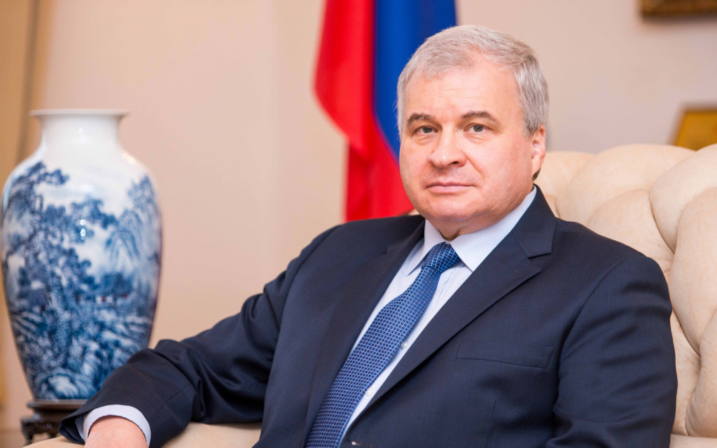 Посол РФ в КНР: надеюсь, Медиакорпораиция Китая еще возьмет интервью у Владимира Путина