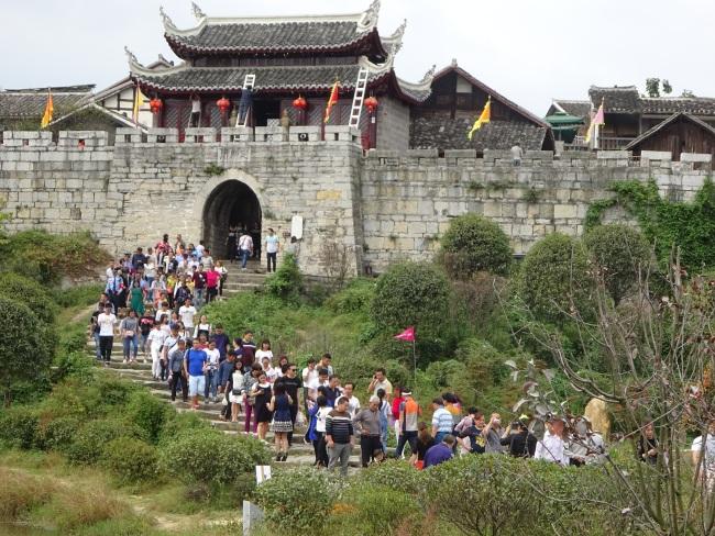 Древний поселок Цинъянь г. Гуйян