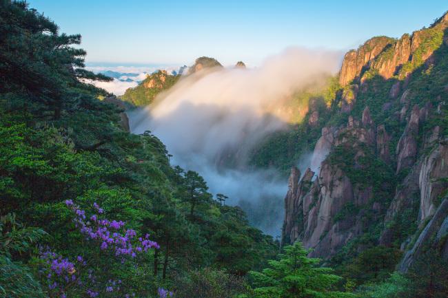 Горы Саньциншань