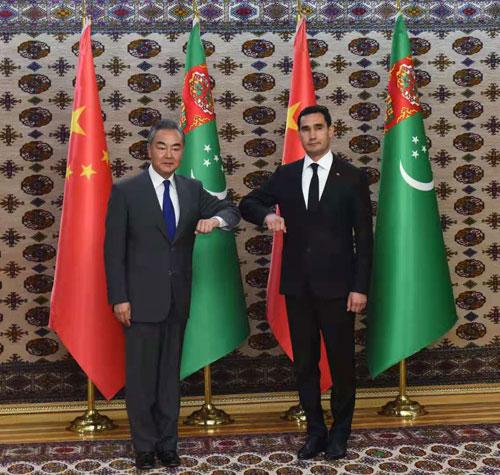 Китай и Туркменистан готовы повышать уровень партнерства