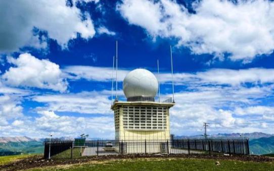 В провинции Цинхай введена в эксплуатацию самая высокогорная метеорологическая РЛС в Китае