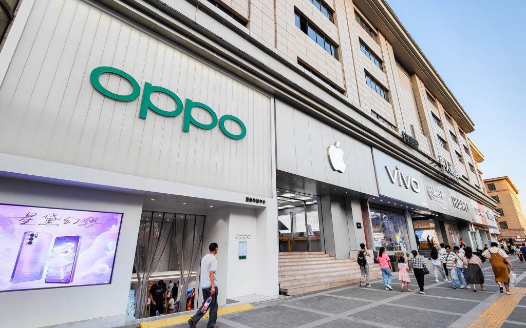 Китайский OPPO обогнал Apple по глобальным продажам