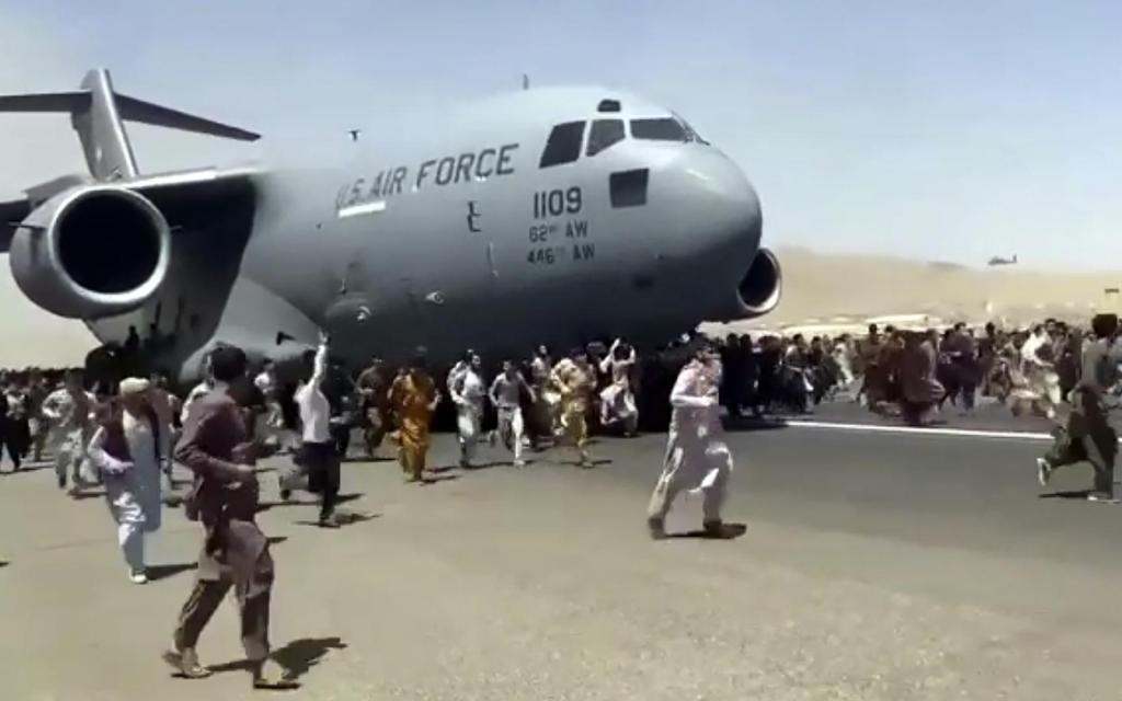 Более 80% участников опроса аналитического центра CGTN считают, что военная кампания США в Афганистане завершилась провалом