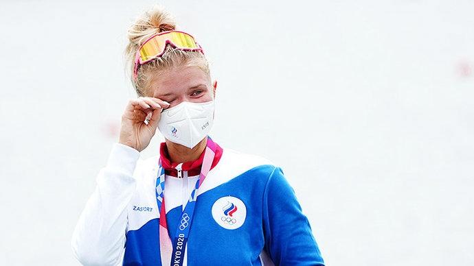 Анна Пракатень завоевала серебро в академической гребле в одиночке на Играх в Токио.