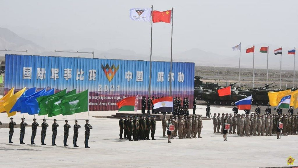 В Китае прошла церемония открытия АрМИ-2021