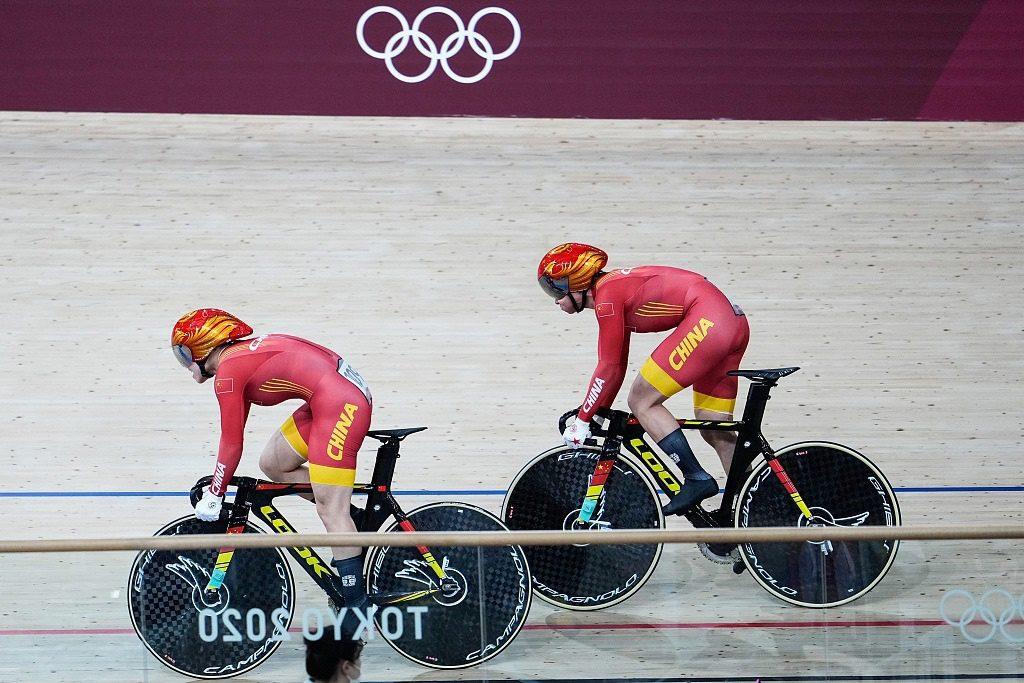 Китаянки Бао Шаньцзюй и Чжун Тяньши завоевали золотые медали