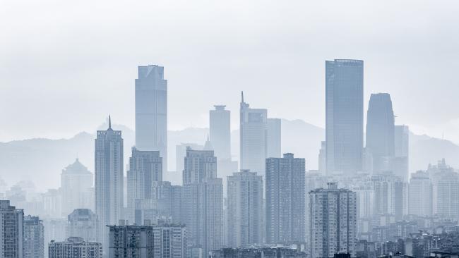 Чунцин – город в горах