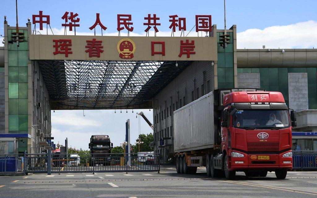 Грузооборот погранперехода Хуньчунь вырос на 300%
