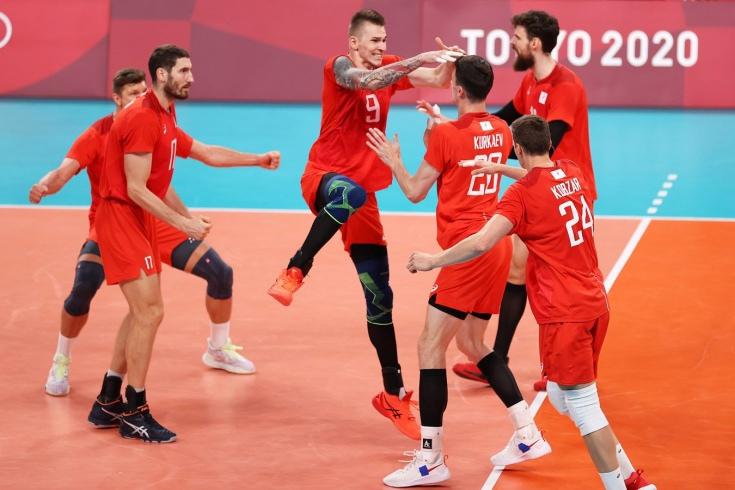 Мужская сборная России по волейболу вышла в финал Олимпиады-2020