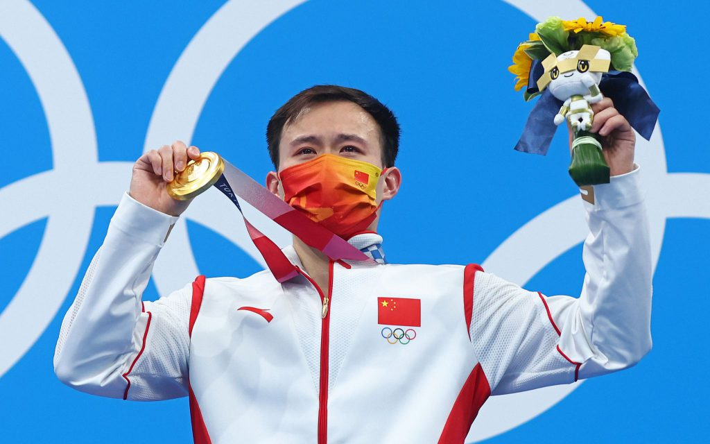 Се Сыи завоевал «золото» в финале соревнований по прыжкам в воду с трехметрового трамплина
