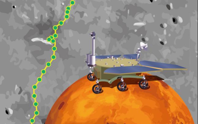 Марсоход «Чжужун» преодолел более километра по поверхности Красной планеты