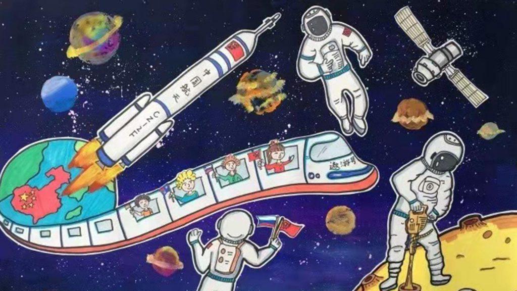 С возвращением, герои-космонавты!!!