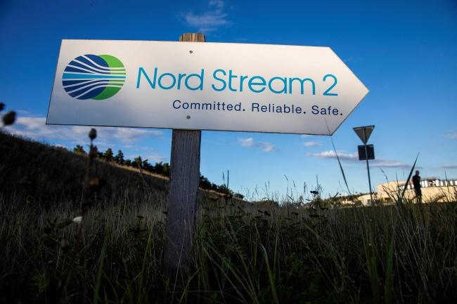 В «Газпроме» заявили о полном завершении строительства «Северного потока-2»