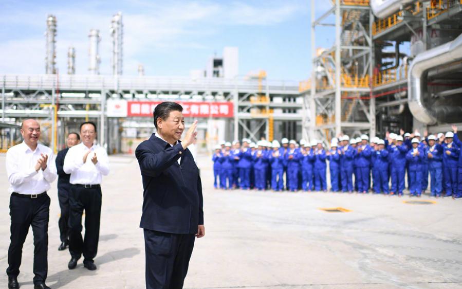Инспекция Си Цзиньпина по пров. Шэньси на северо-западе Китая