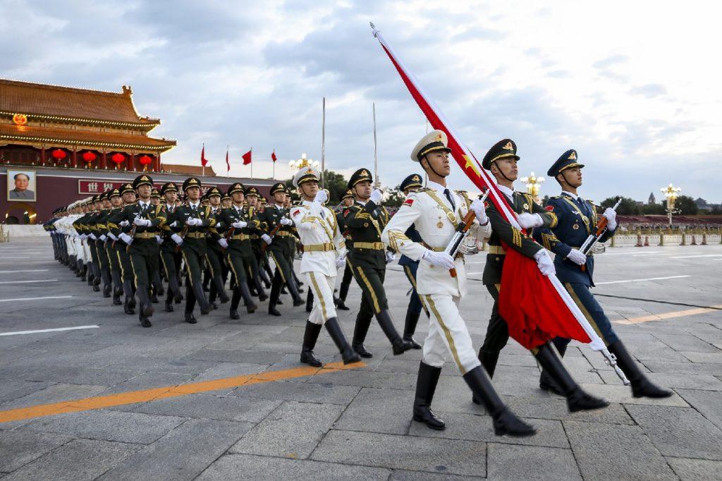 72-ю годовщина со Дня образования КНР
