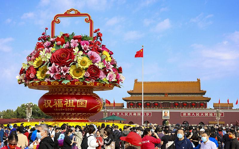 Каков отдых китайцев во время каникул по случаю Национального праздника КНР?